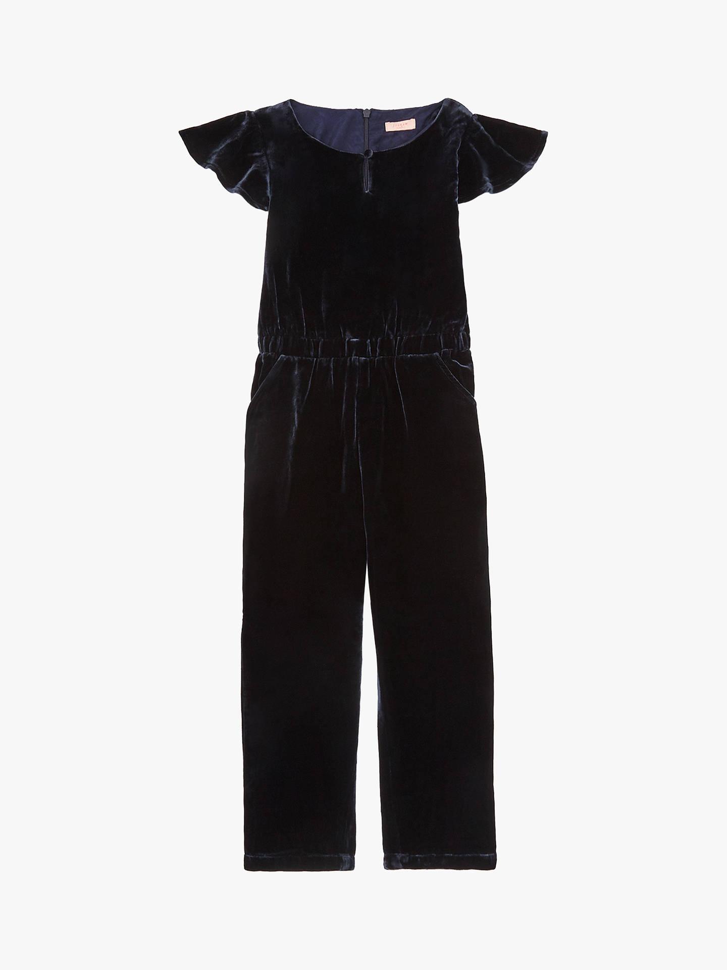 9dc4a85a26b Buy Jigsaw Girls  Silk Velvet Jumpsuit