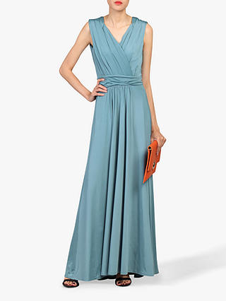 Buy Jolie Moi Plunge Wrap Dress, Sage, 14 Online at johnlewis.com