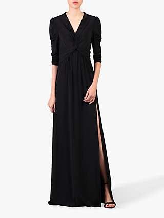 Jolie Moi Side Slit Maxi Dress