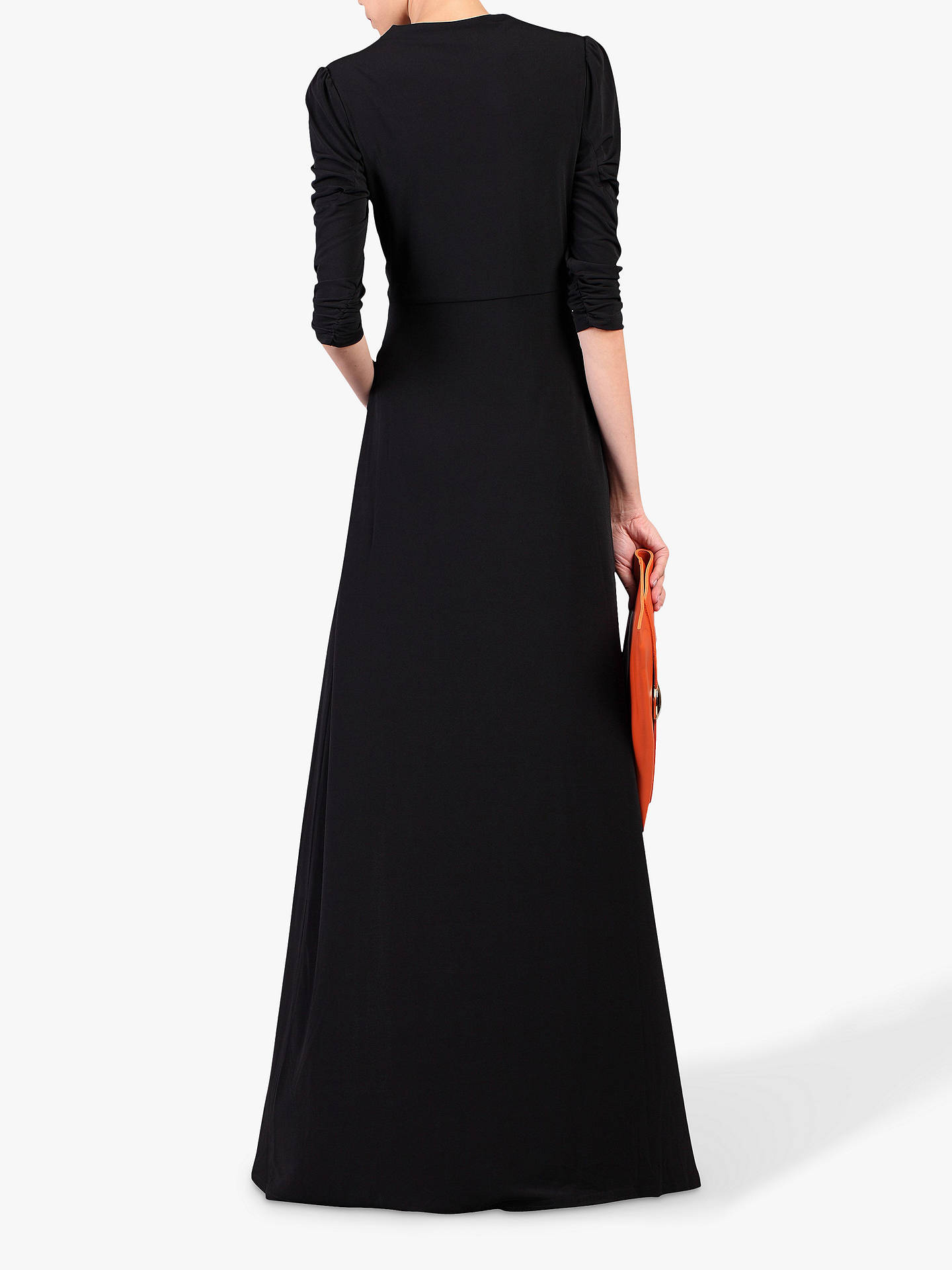 Buy Jolie Moi Side Slit Maxi Dress, Black, 8 Online at johnlewis.com