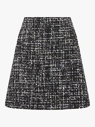 Warehouse Tweed Sparkle Skirt, Multi