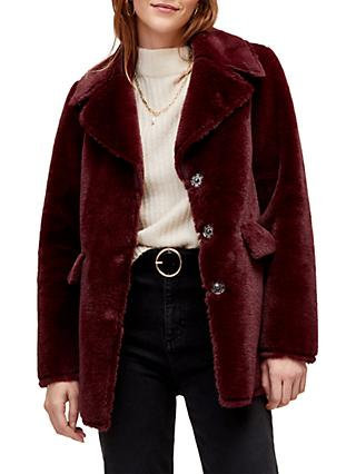 7a84379e0917 Women s Red Coats   Jackets   John Lewis   Partners