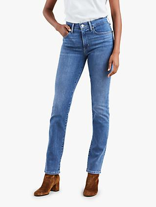 Levi's 724 High Rise Straight Jeans, Second Thought
