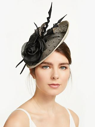 cb8a9804cc411 Suzanne Bettley Kimmy Rose and Polka Dot Disc Occasion Hat
