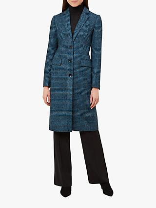 Hobbs Diane Coat, Black Blue