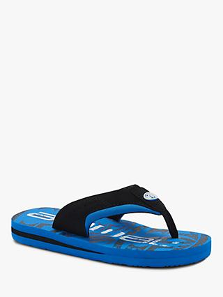 Animal Children's Jekyl Logo Flip Flops, Blue
