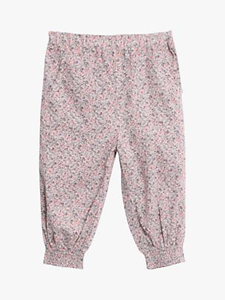 Wheat Baby Sara Floral Trousers, Pink Powder