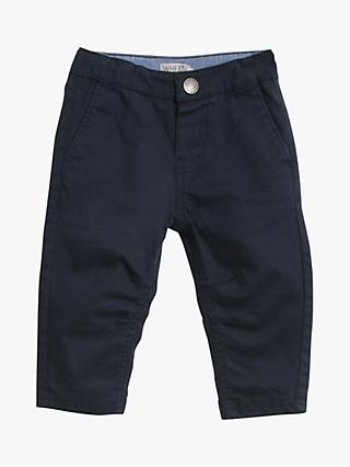 Wheat Baby Slim Orla Trousers, Navy
