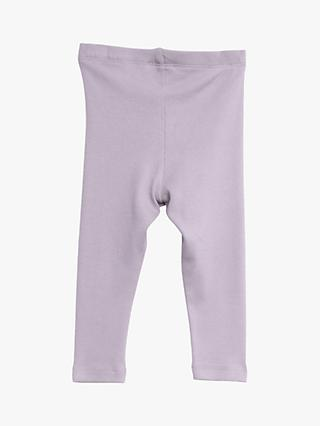 Wheat Baby Ribbed Leggings, Soft Lavender