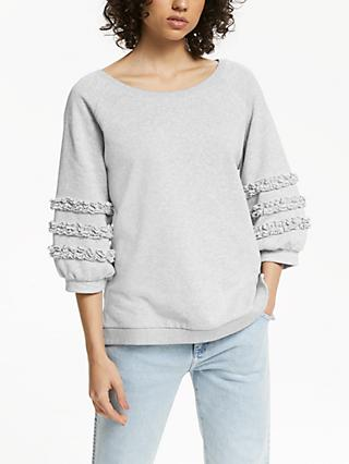 AND/OR Lana Frill Sweat Top