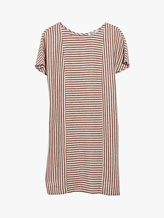 6e9be4f2c7d Madewell Stripe Play Button Back Dress