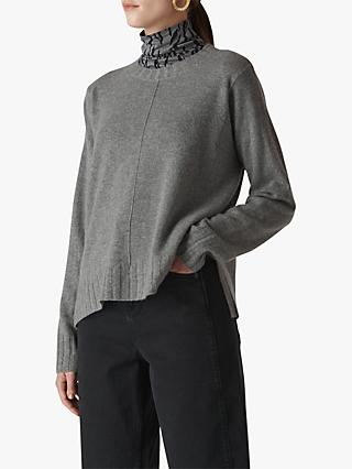 Whistles Cashmere Crew Neck Jumper