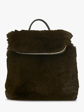 2c03cf9cd584 Whistles Faux Fur Mini Verity Backpack