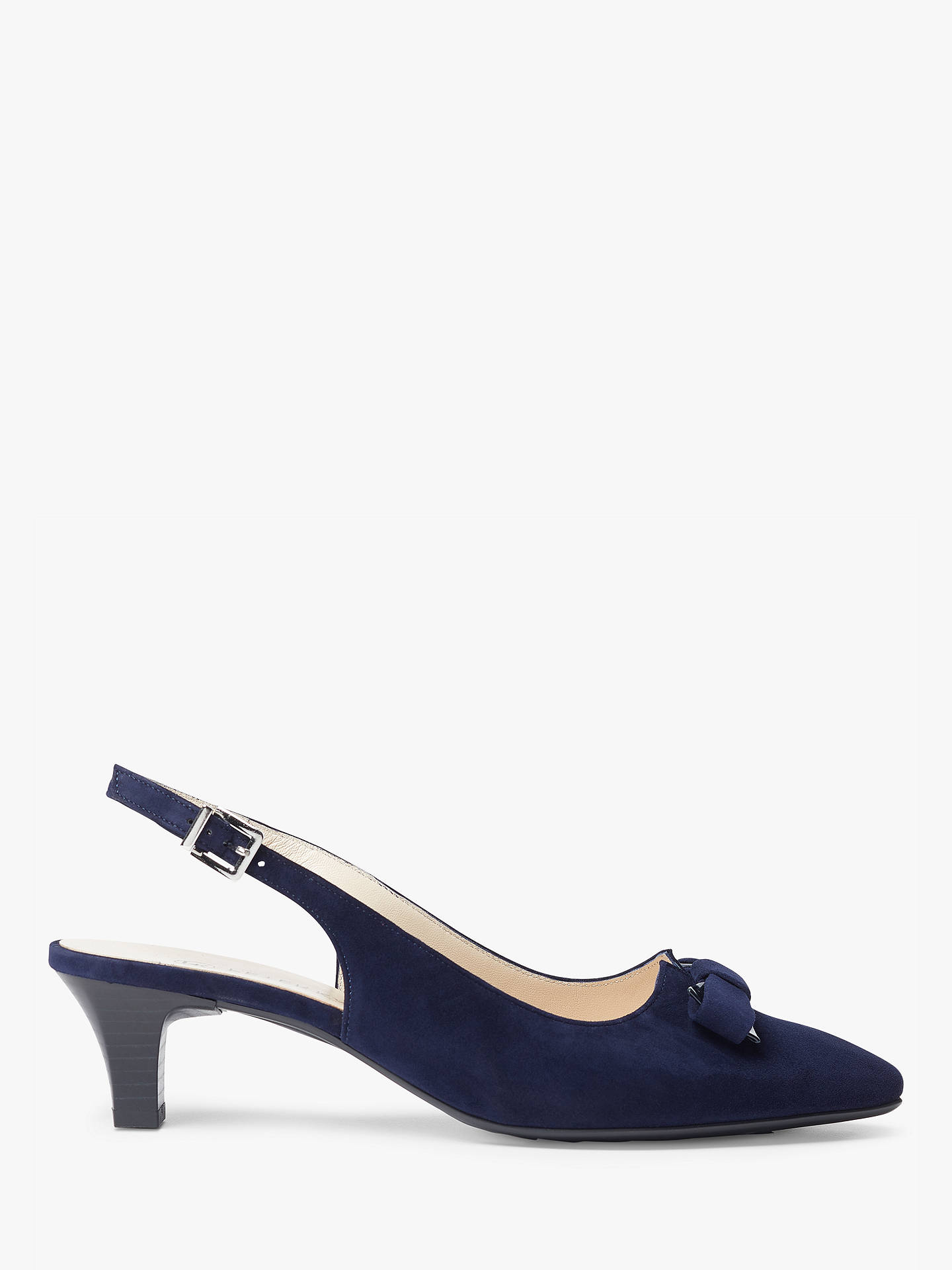 7d1a68158e0 Buy Peter Kaiser Sona Bow Cone Heel Slingback Court Shoes
