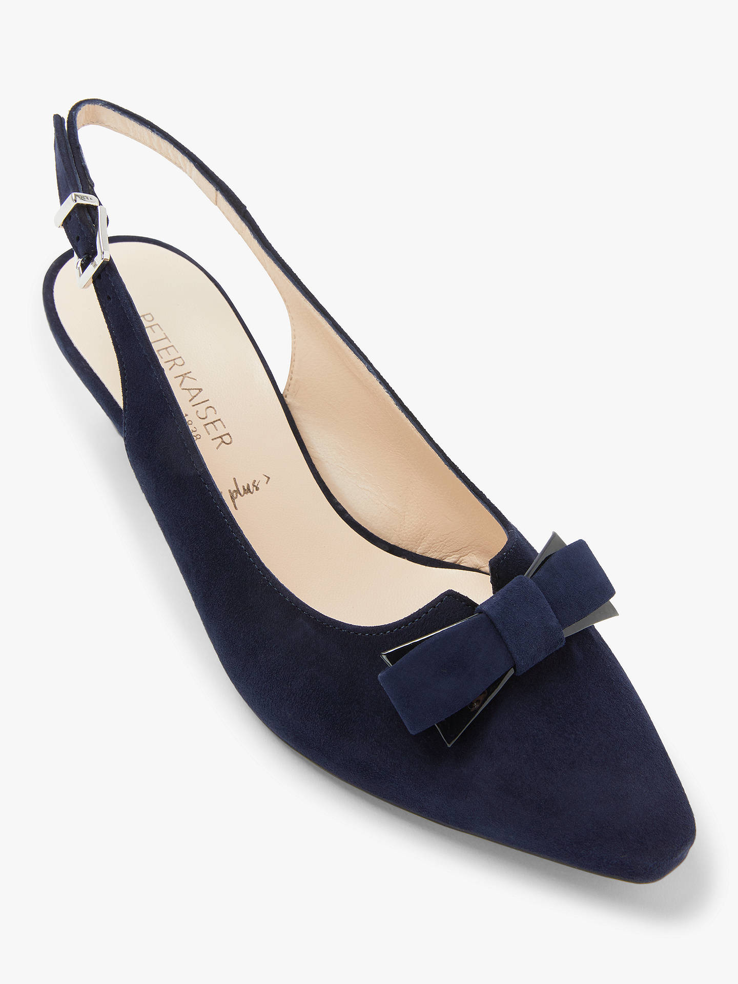 40d9047d55d ... Buy Peter Kaiser Sona Bow Cone Heel Slingback Court Shoes