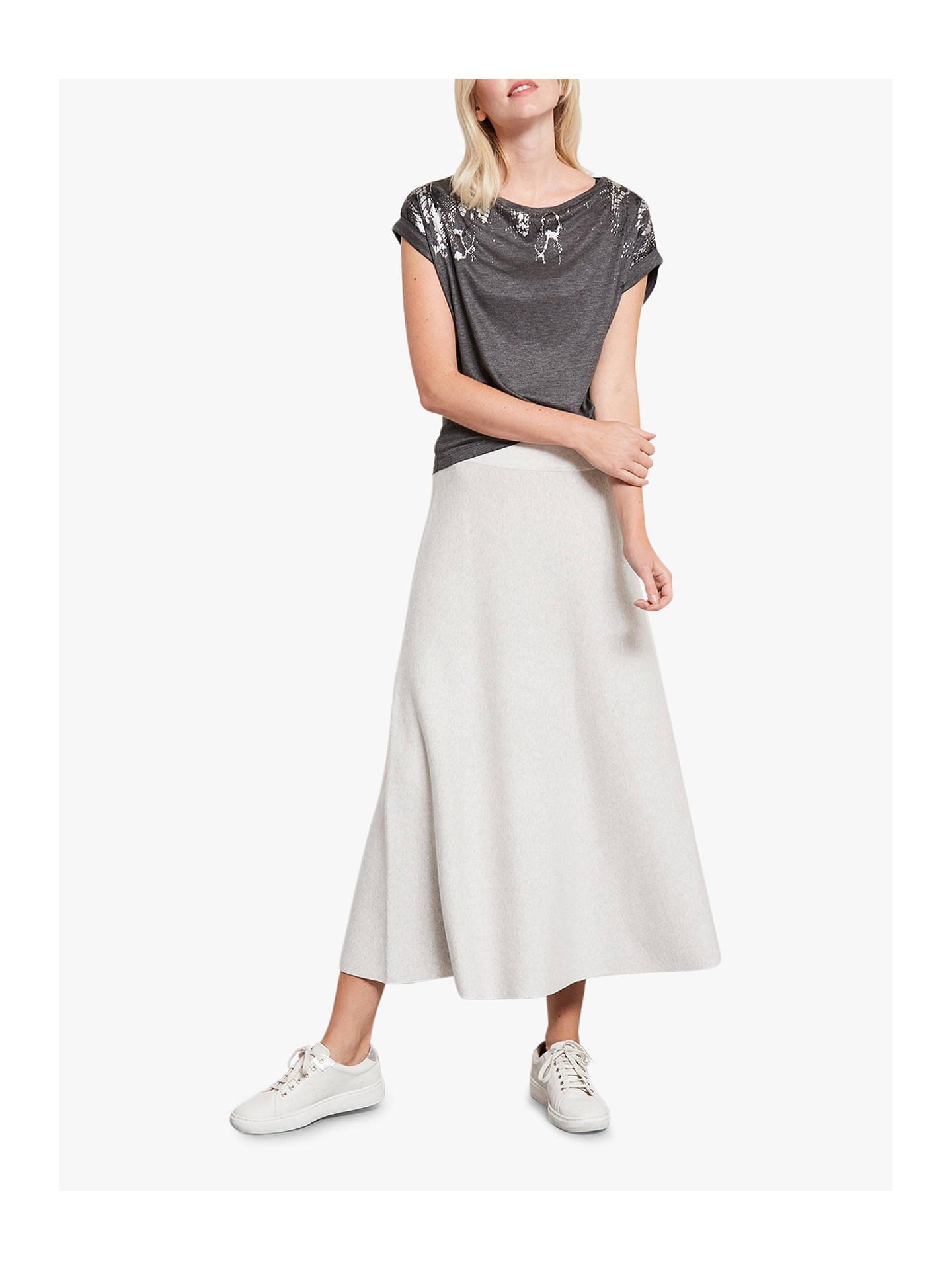 97dba7bd2d5 Buy Mint Velvet Ribbed Flare Maxi Skirt