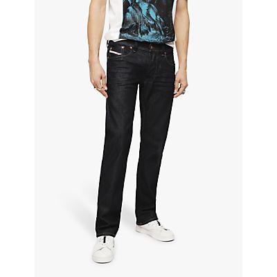 Image of Diesel Larkee-Beex Regular Straight Jeans, Blue