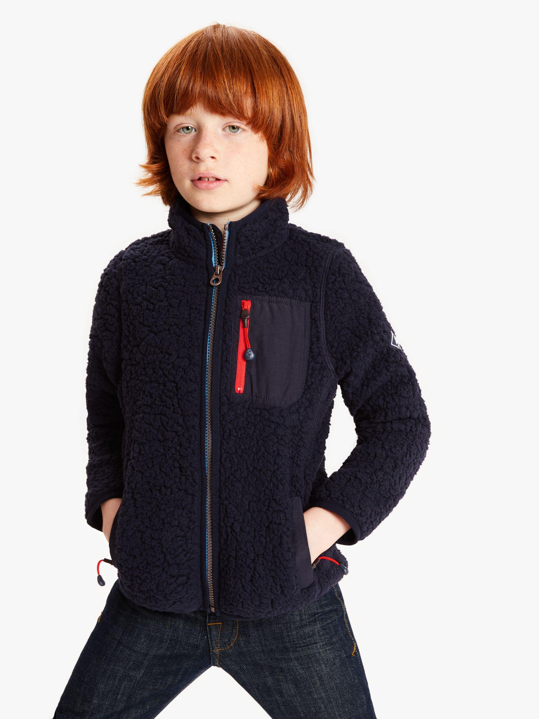 Case IH Little Boy/'s Zip-Up Sherpa Hoodie