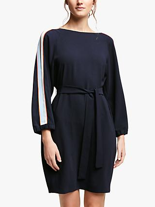 Marella Sguizzo Stripe Sleeve Dress, Midnight Blue