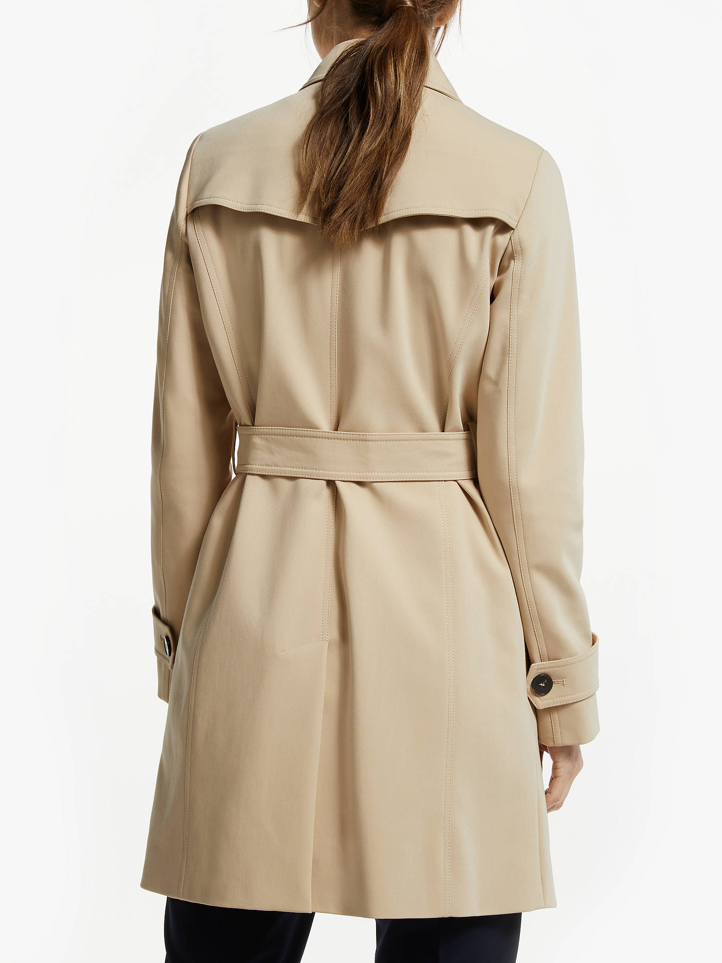 020831f61e ... Buy Marella Razza Trench Raincoat, Camel, 8 Online at johnlewis.com ...