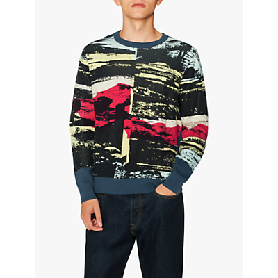 PS Paul Smith Graphic Jumper, Navy