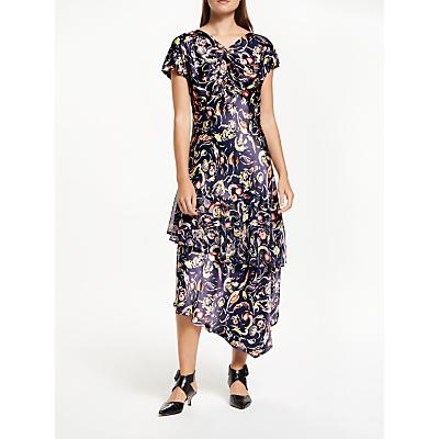 Finery Juni Speakeasy Print Dress, Multi