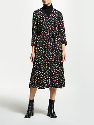 Finery Daniella V-Neck Floral Dress