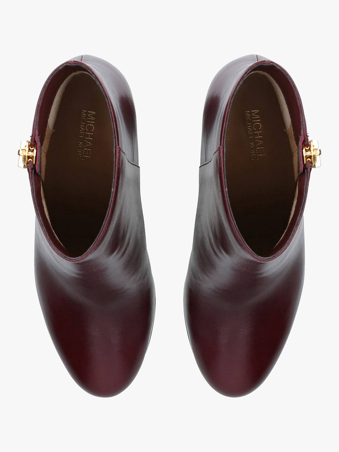 4df63fceb42f ... Buy MICHAEL Michael Kors Margaret Block Heel Ankle Boots