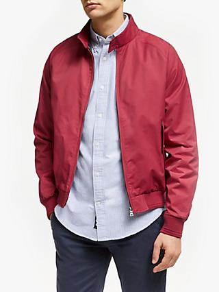 John Lewis & Partners Shower Resistant Wallace Harrington Jacket