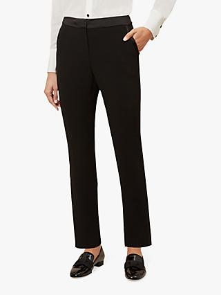 Hobbs Lana Tux Trousers, Black