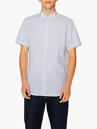 PS Paul Smith Short Sleeve Tailored Printed Shirt acc006a80