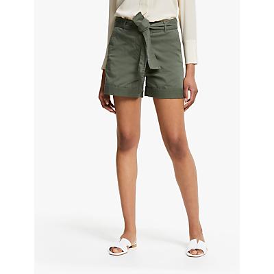 John Lewis & Partners Chino Tie Waist Shorts