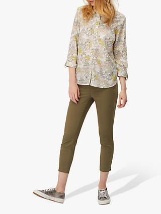 White Stuff Hazel Capri Jegging, Dark Olive