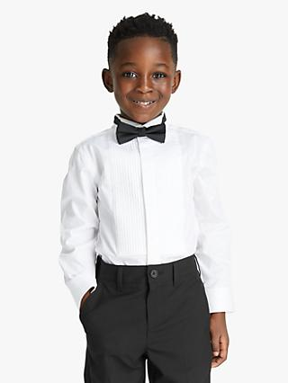 John Lewis & Partners Heirloom Collection Boys' Dress Shirt, White