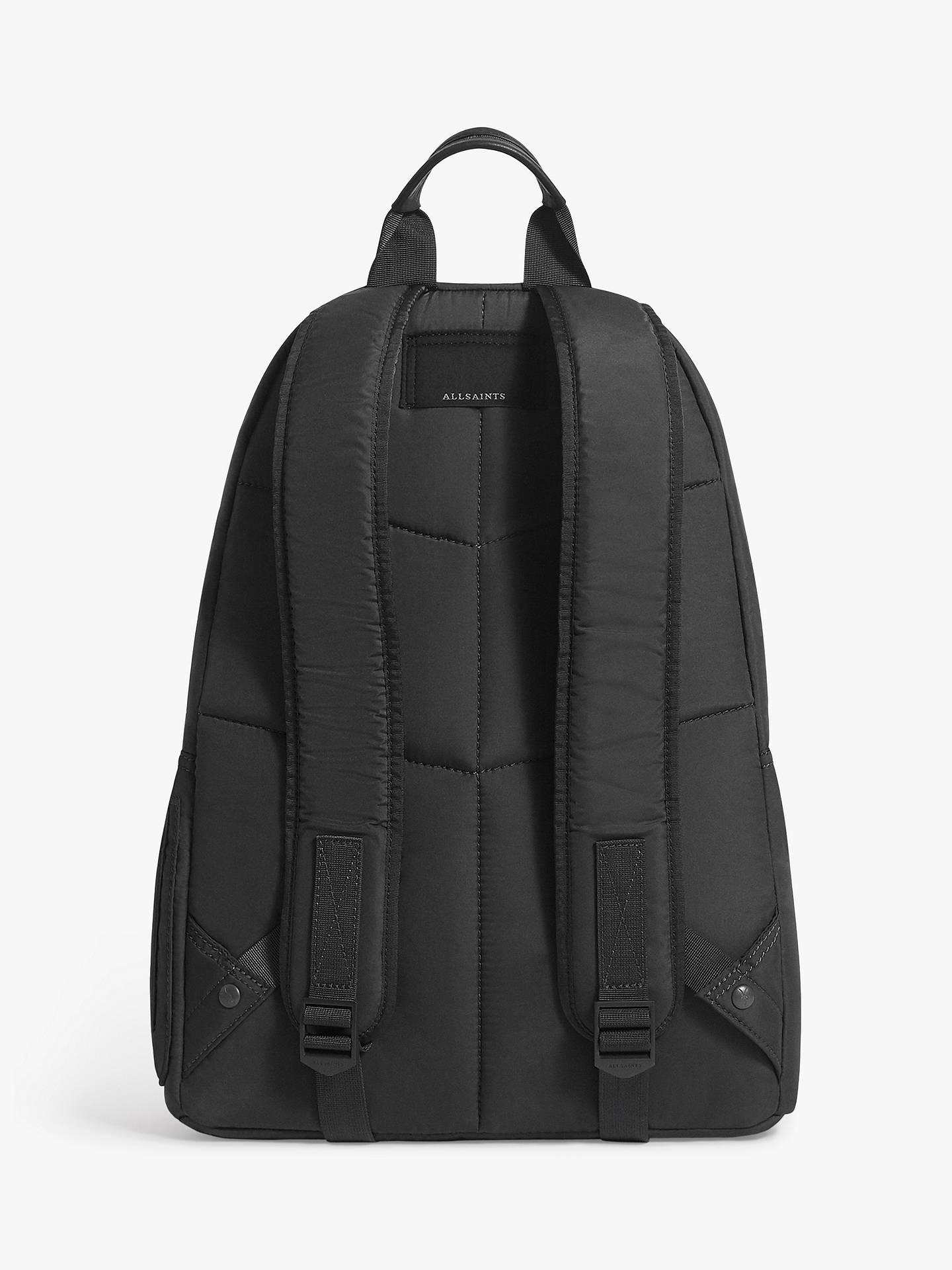 eba90bc21 ... Buy AllSaints Ridge Backpack, Slate Grey Online at johnlewis.com ...