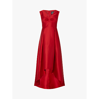 Adrianna Papell Plus Size High Low Dress, Red