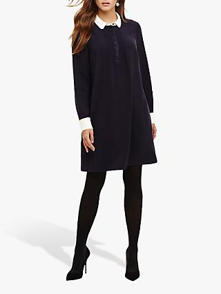 Phase Eight Tux Tunic Dress, Navy