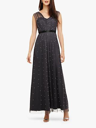 Phase Eight Ashleen Maxi Dress, Pewter
