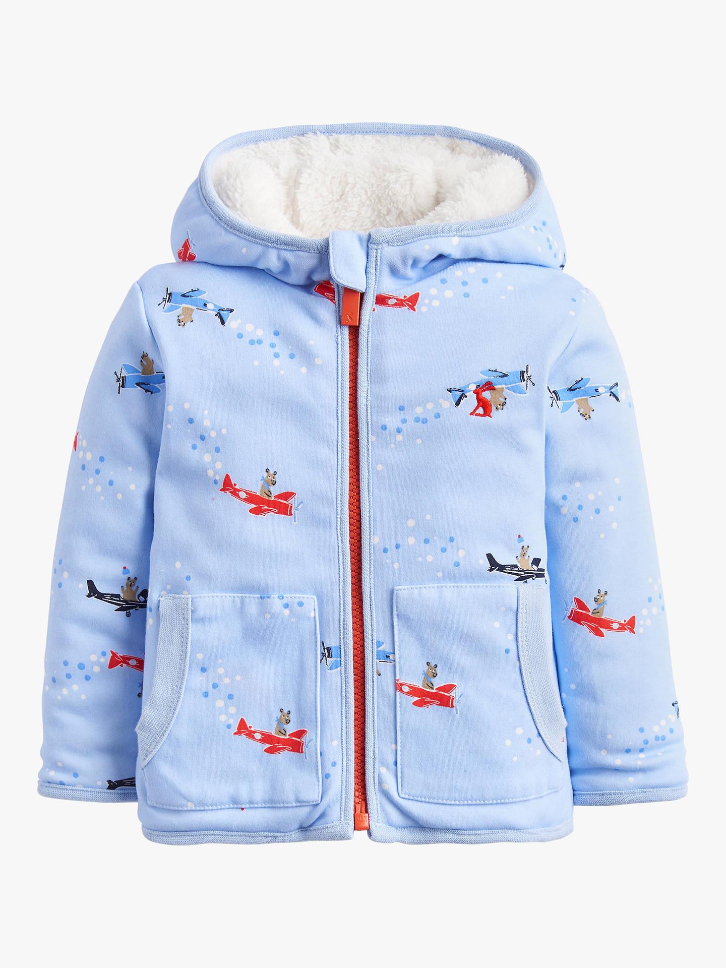 81b8be4b23 Baby Joule James Bears Reversible Jacket, Blue at John Lewis & Partners