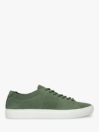 Lacoste L.12.12 Unlined Nubuck Trainers