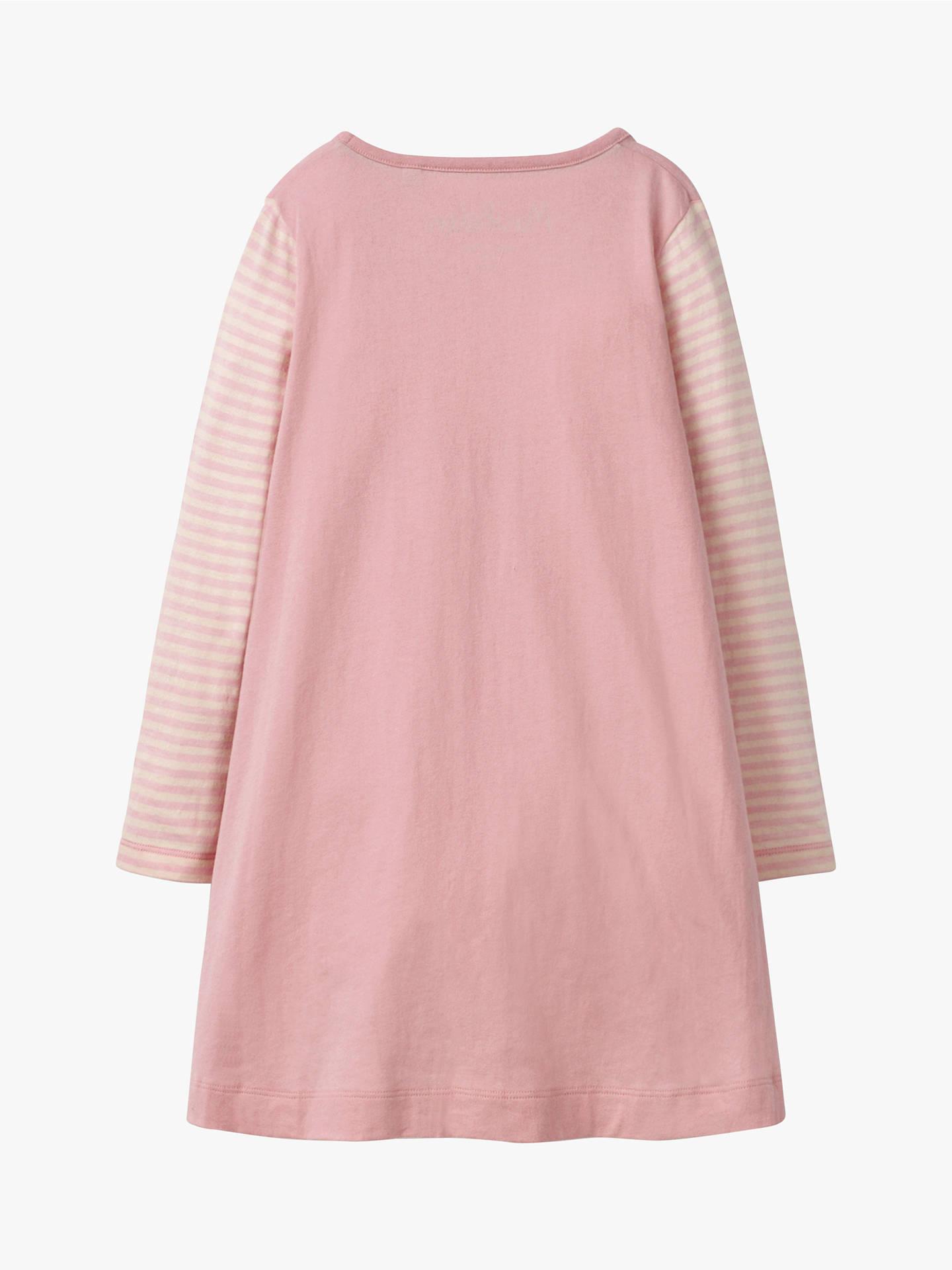 06b1d5f2d7af Mini Boden Girls  Festive Robin Applique Dress