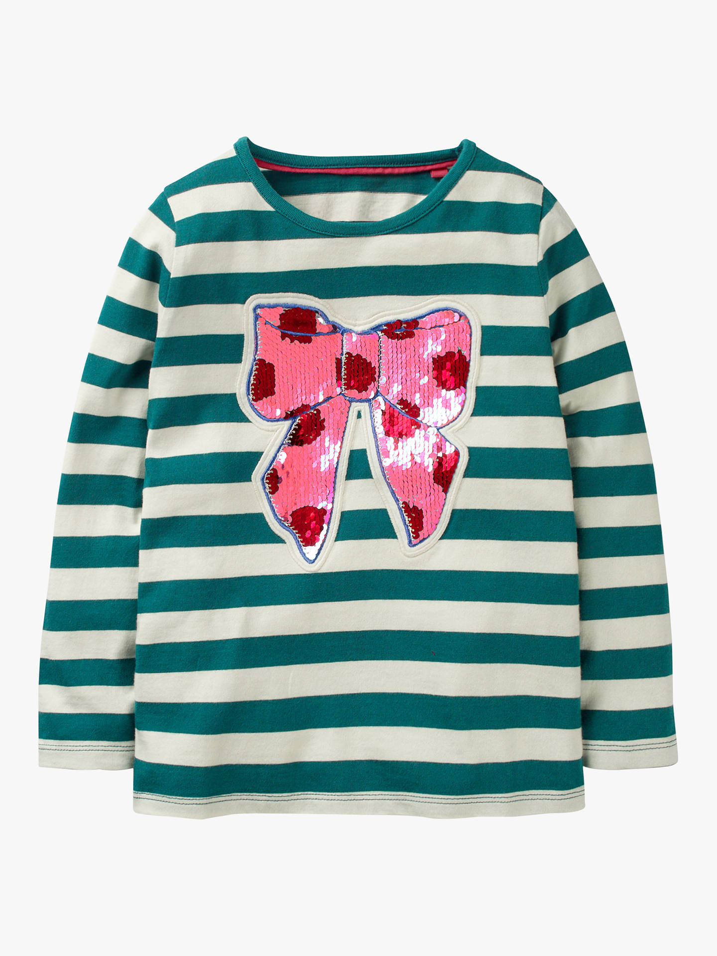 430f44783 Mini Boden Girls  Festive Colour Change Sequin Top