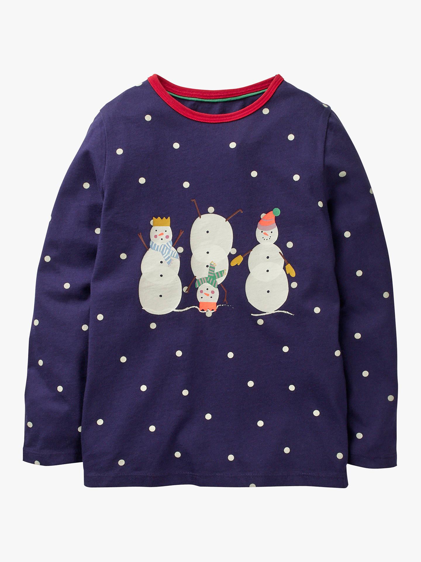 67cda57fd Mini Boden Girls  Festive Friends T-Shirt