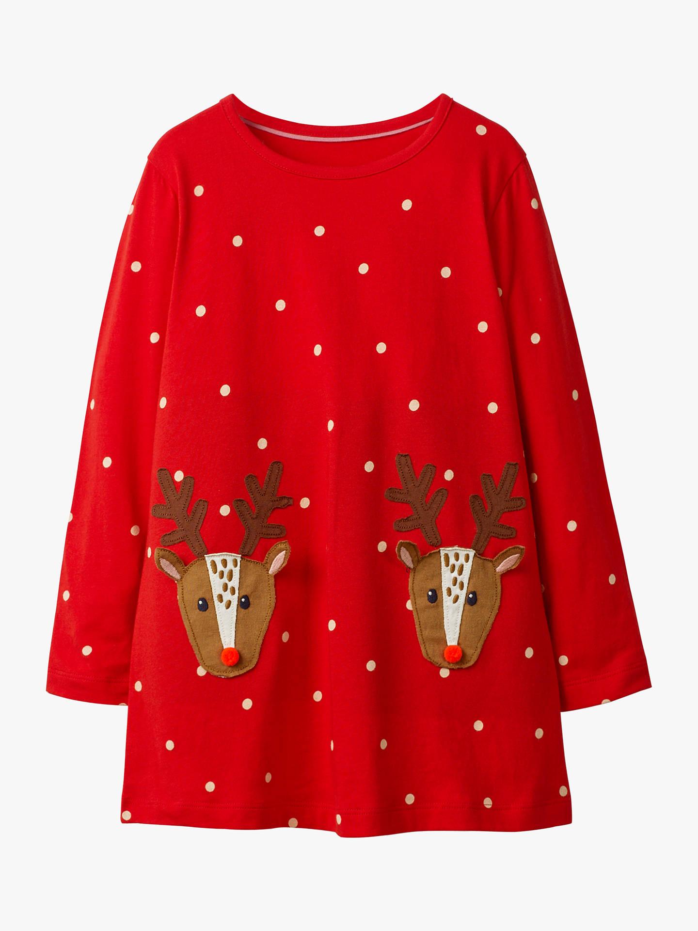 71551a9fe0cb Mini Boden Girls  Festive Applique Tunic Top