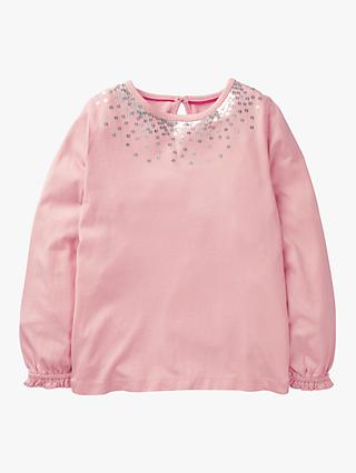 Mini Boden Girls' Twinkly Jersey Top