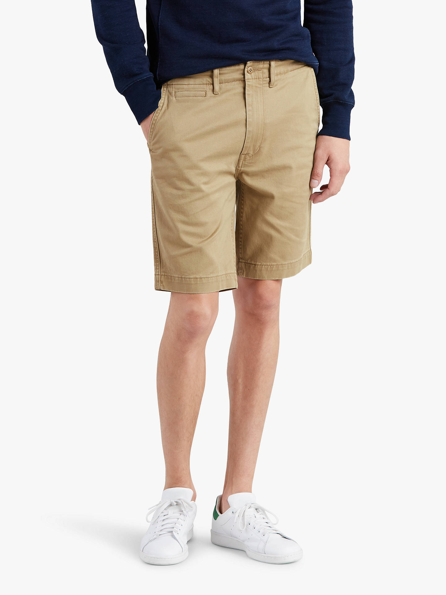 80ea93cc Buy Levi's 502 Chino Shorts, Lead Gray Twill, 38R Online at johnlewis. ...