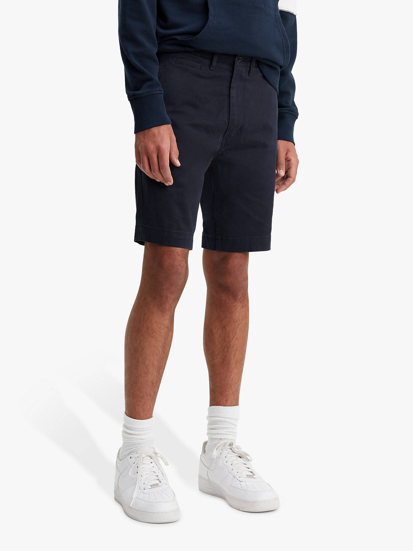 7a1c92b9 Buy Levi's 502 Chino Shorts, Nightwatch Blue, 34R Online at johnlewis. ...
