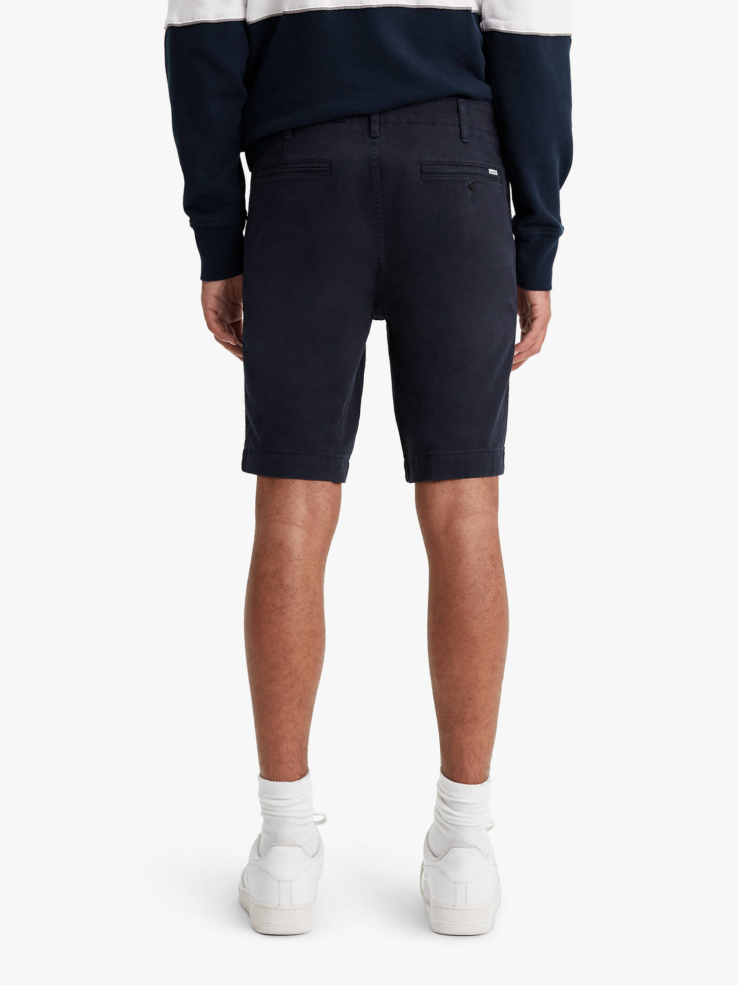 4755b837 ... Buy Levi's 502 Chino Shorts, Nightwatch Blue, 34R Online at  johnlewis.com
