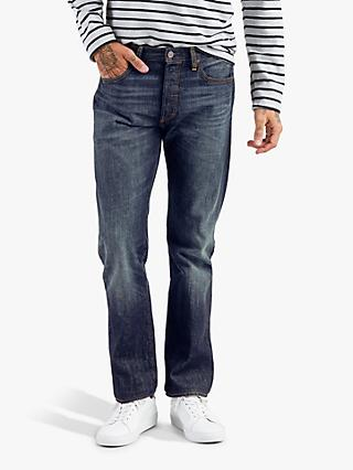 Levi's 501 Original Fit Slim Jeans, Cheviot