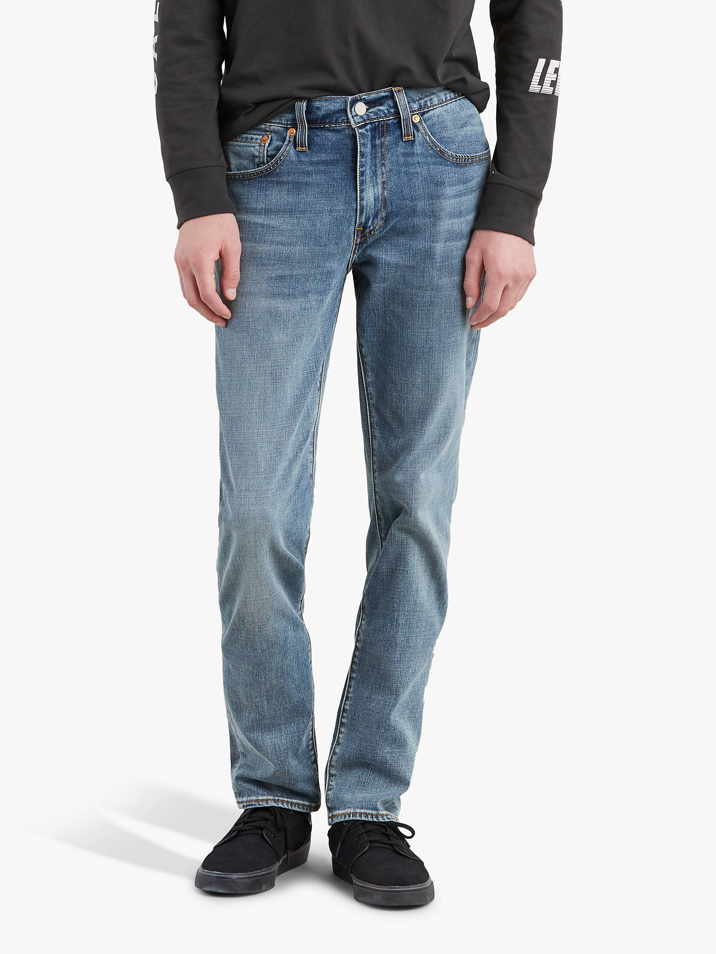 1204e1f51f62 Buy Levi's 511 Slim Fit Jeans, Baltic Adapt, 32R Online at johnlewis. ...